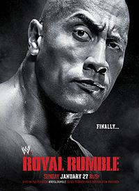 مهرجان للجماهير قبيل رويال رامبل 2013 على غرار الرسلمانيا Royal_Rumble_2013_Poster