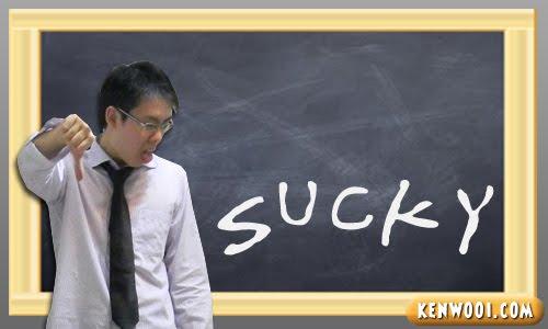 blackboard sucky