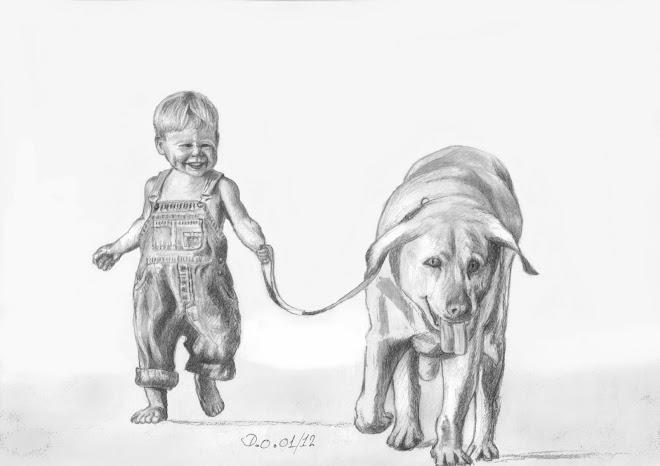 Petit garçon et son chien (2012)