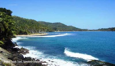 Pantai Tapak Tuan, Sumatera Selatan