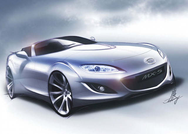 Mazda MX-5 concept photo