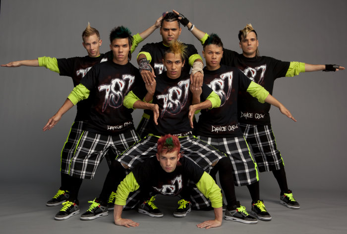 iconic boyz crew abs. Again, each crew got a chance