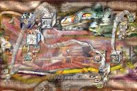 El Guardián (Dragón Experiencial). Obra del Rivismo del artista español Ramón Rivas, presentada al Florence-Shanghai Prize
