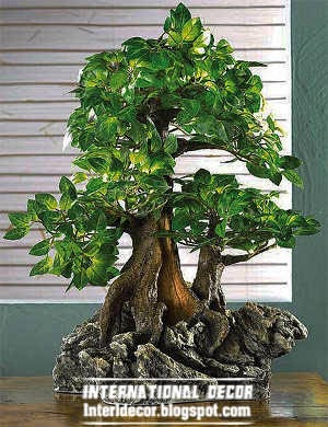 artificial plants, artificial bonsai trees