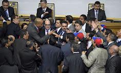 Pagina web de la Asamblea Nacional venezolana