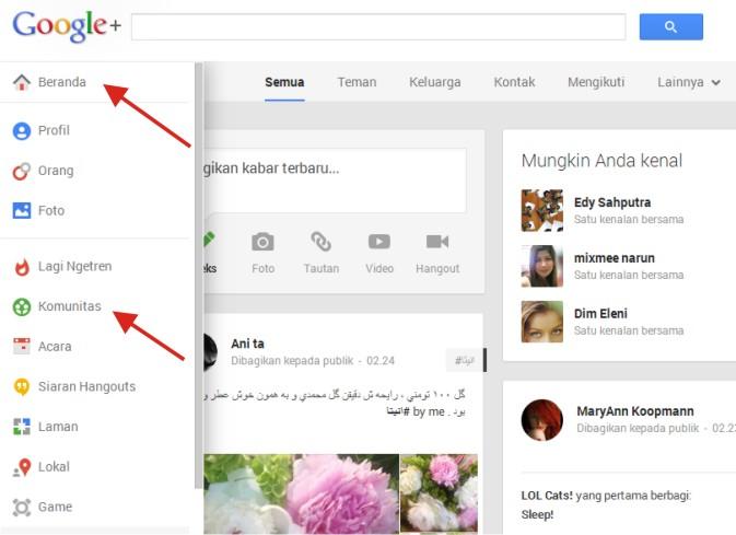 Cara Membuat Group Google+ Indonesia