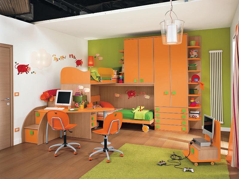 Habitaciones infantiles para dos ni os ideas para - Dormitorios infantiles dobles ...