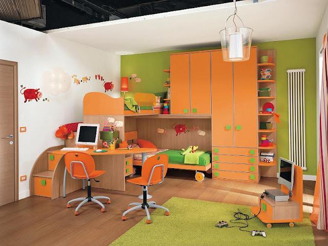 Cuartos infantiles dobles imagui - Dormitorios infantiles dobles ...