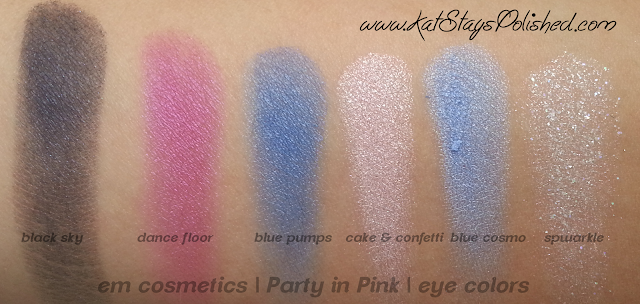 em michelle phan - The Life Palette- Party Life - Party in Pink - eye