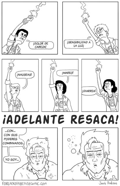 Capitán Resaca es nuestro héroe