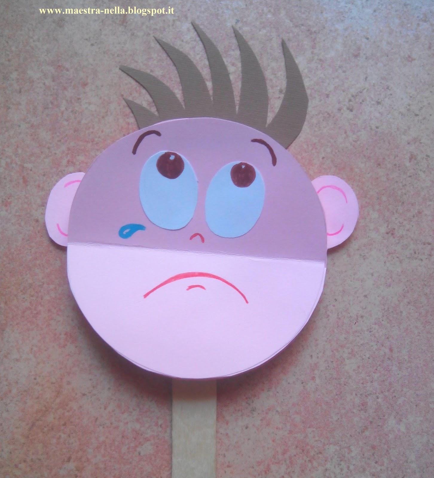 Popolare maestra Nella: La paletta delle emozioni DQ89
