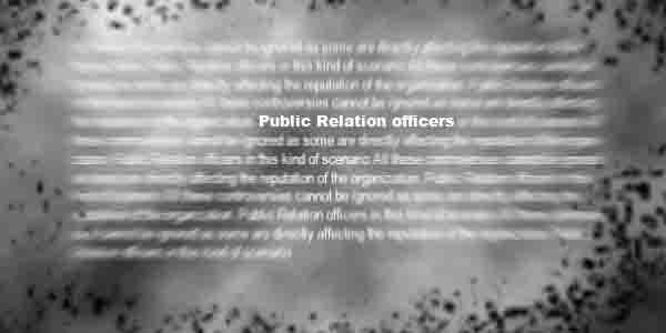 Goals of Public Relations