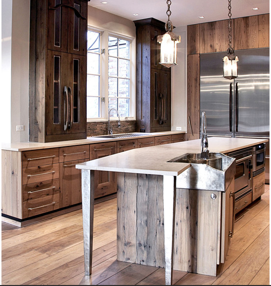 Barn Wood Kitchen: Is Barn Wood For You?