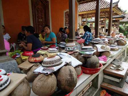 Ngayah is a Balinese culture