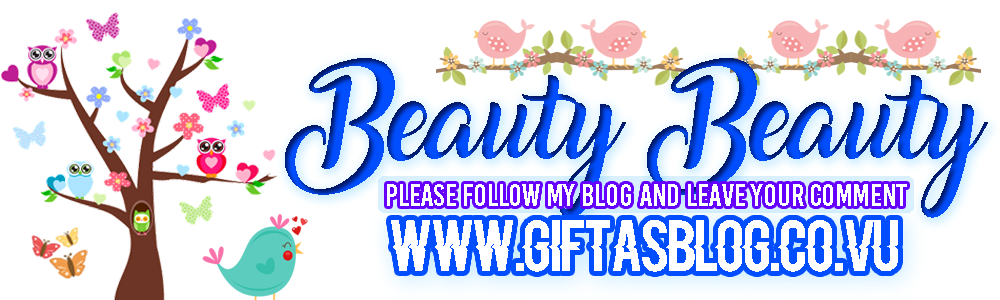 Beauty Beauty - Stefani Gifta's Blog