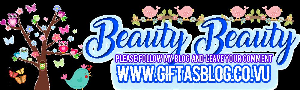 Beauty Beauty - Stefani Gifta Ganda's Blog