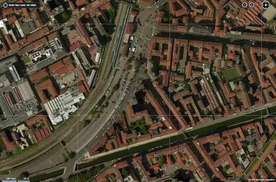 Milan finally milan green m2 metro line what places - Navigli porta genova ...
