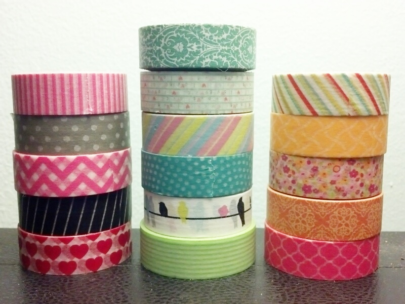 Whupsadaisy Creations 20 Things To Do With Washi Tape