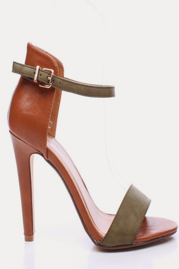 dual buckle vamp band ankle strap with dual buckle closure faux leather lining and footbed 1 12 inch platform and 5 inch heels
