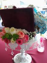 gubahan hantaran  fresh flower rm70.00