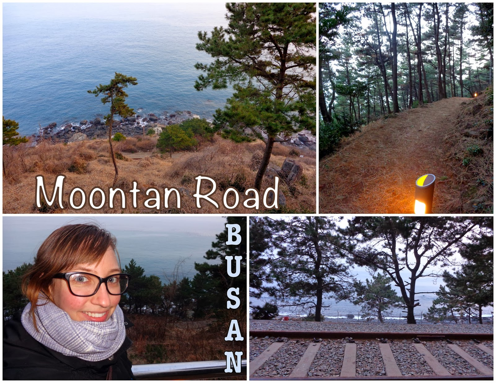 Moontan Road in Busan, Korea