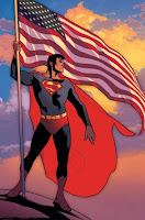 Superman US Flag