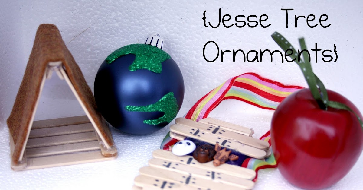 davids daily delight  jesse tree ornaments