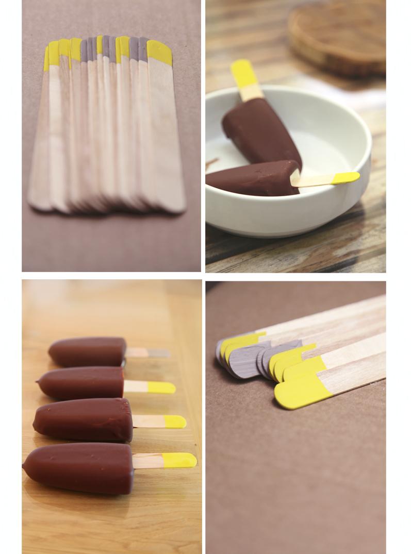 recette glace vanille chocolat