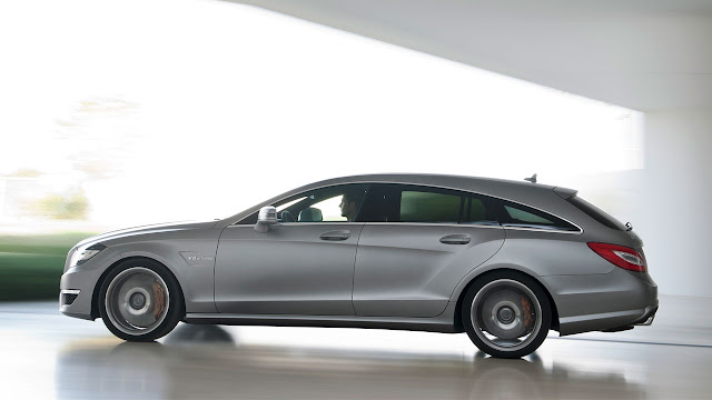 Mercedes-Benz CLS 63 AMG Shooting Brake: The performance trendsetter side