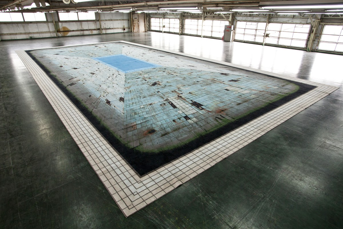 Optical Illusion Swimming Pool