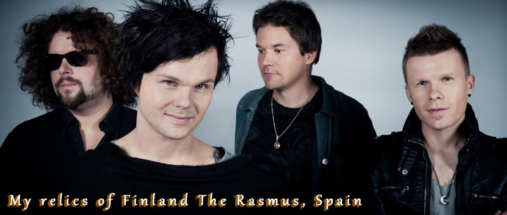 My relics of Finland The Rasmus, Spain