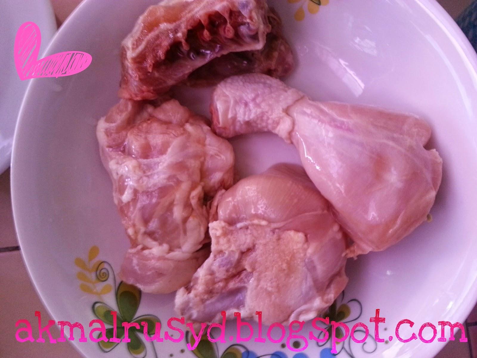 Ayam Masak Lemak Cili Padi Resepi Ibu Mertuaku