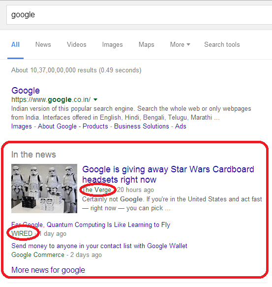 Google-News-Websites