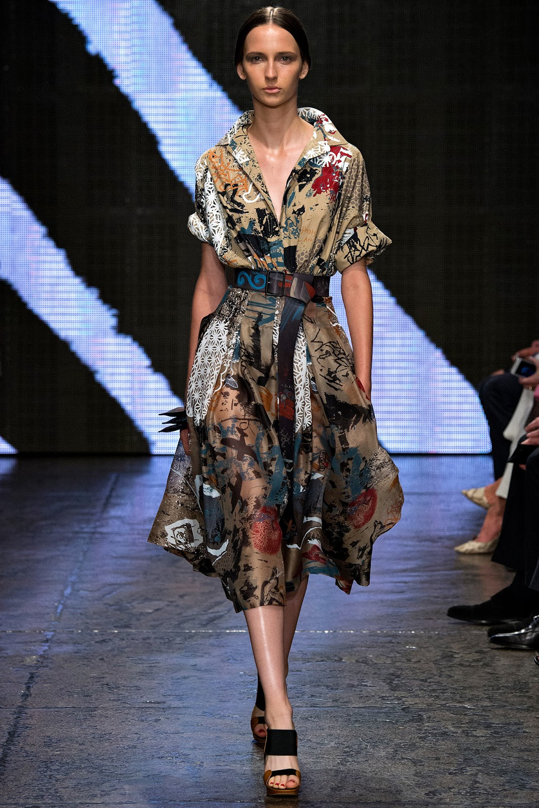 spring/summer 2015 trends / shirtdress / history of shirt dress / donna karan spring 2015 / via fashioned by love british fashion blog