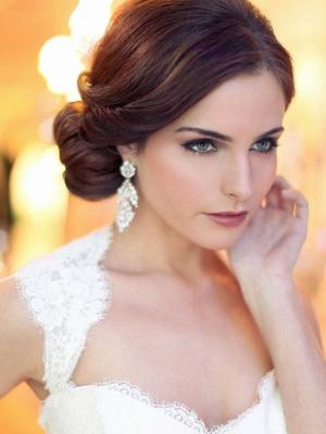 Peinados de novia Fotos de los mejores looks (Foto) Ella Hoy - Imagenes De Peinados De Novias