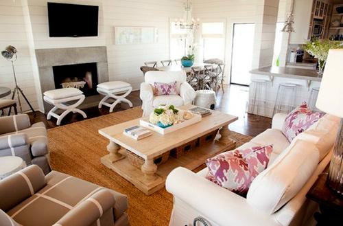 Hướng dẫn bố trí tivi cho phòng khách có Sofa 2