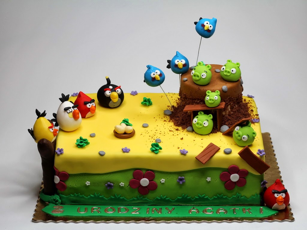 Images Of Angry Birds Cake : Best Birthday Cakes in Chelsea: Best Angry Birds Bday ...