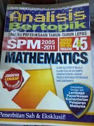 Soalan Percubaaan Matematik SBP SPM 2014
