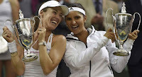 Sania mirza creates history with martina hingis