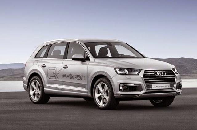 Mobil Audi Q7 e-tron Siap Bersaing di Pasar Otomotif Asia