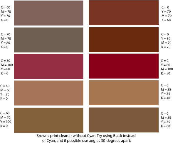 Brown Color Schemes