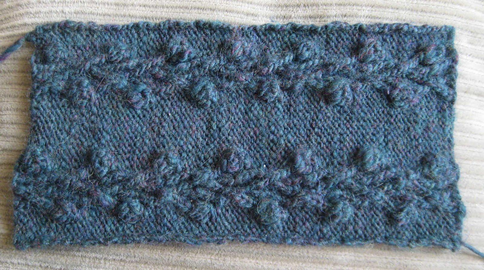 Knitting Rose Stitch : Chemknits briar rose french press coffee cozy