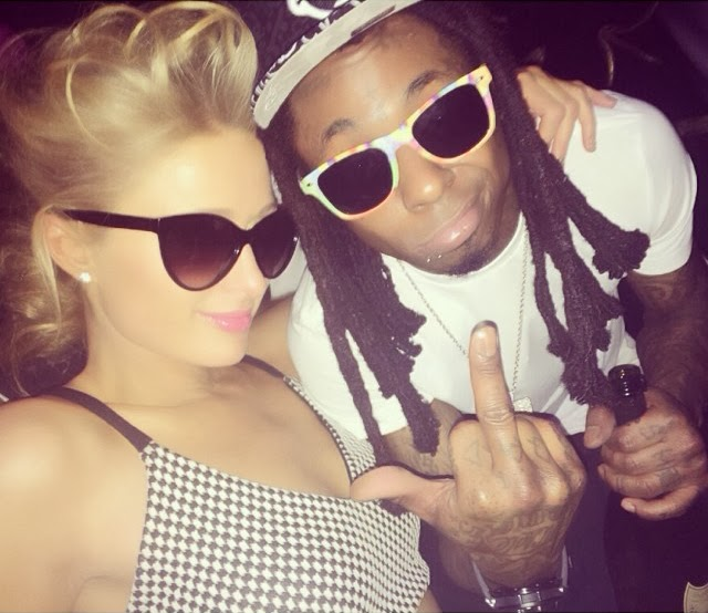 fotos de lil wayne nicki minaj birdman drake paris hilton mack maine lil twist fiesta despues grammy