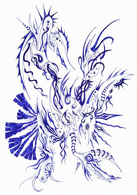 Dessins Fantastiques - Page 2 Bleu+5