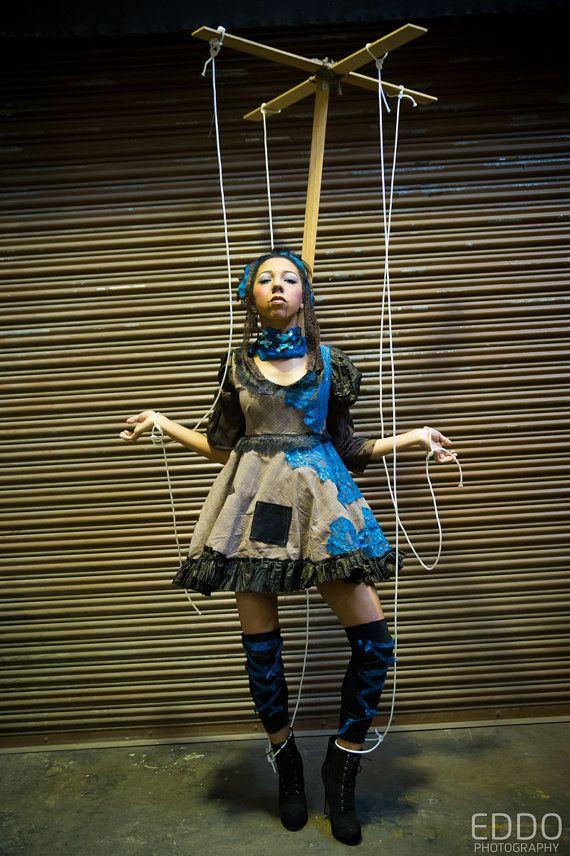 disfraz marioneta zombie halloween 2014
