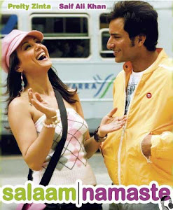 Poster Of Bollywood Movie Salaam Namaste (2005) 300MB Compressed Small Size Pc Movie Free Download worldfree4u.com