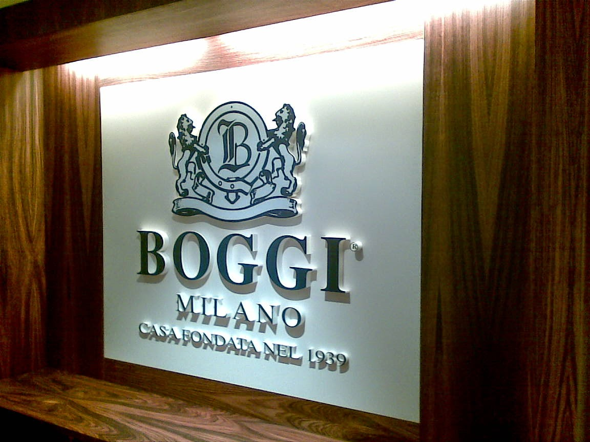 Boggi sign - Signcraft