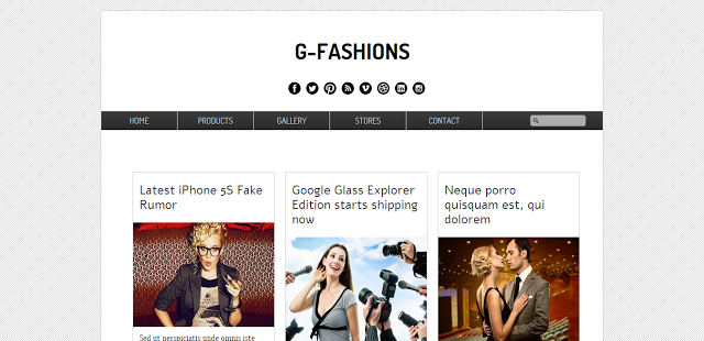 G-Fashion Template