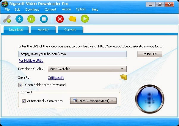 Bigasoft Video Downloader Pro Full Version