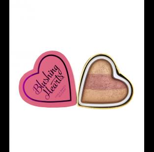 Colorete Blushing Hearts de I Heart Mekeup en el tono Peachy Keen Heart